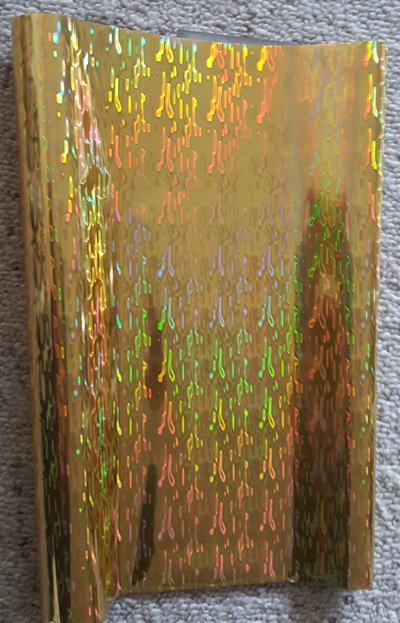 Waterfall Gold Foil