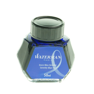 Waterman bottled fountain pen ink