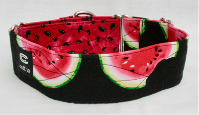"Watermelon Designer 2"" Collar - caff 10"