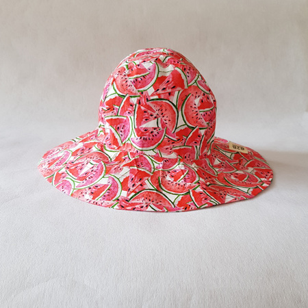 Watermelon Sombrero Hat - Adult size large