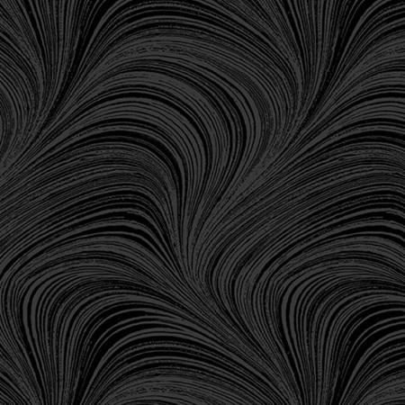 Wave Texture Black