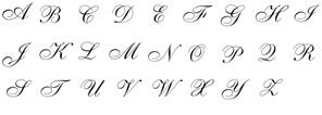 wax seal - single script initial
