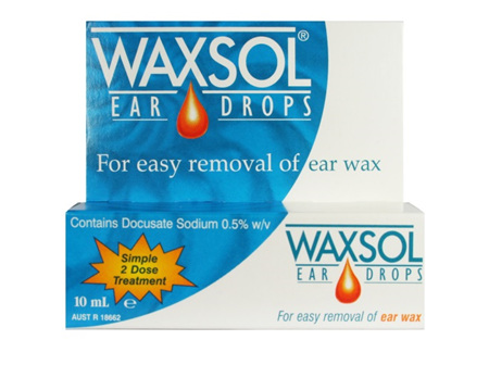 Waxsol Ear Drops 10ml