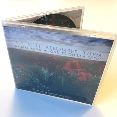 We Will Remember Them CD