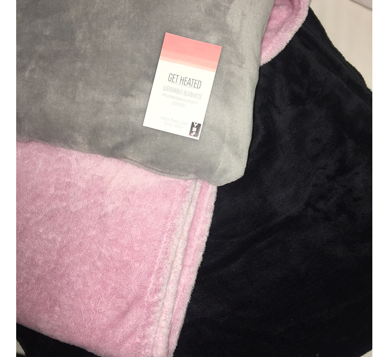 d5801ba220 The wearable blanket is the ultimate winter accessory. Enjoy cuddling up  after having a warm shower