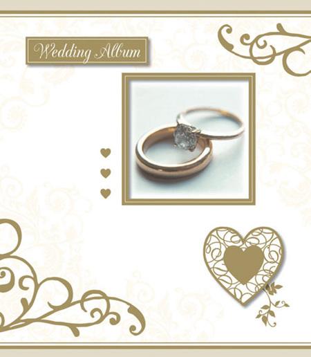 Wedding album and memory book