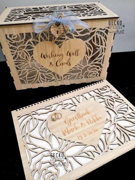 Wedding Card Box & Guest Book