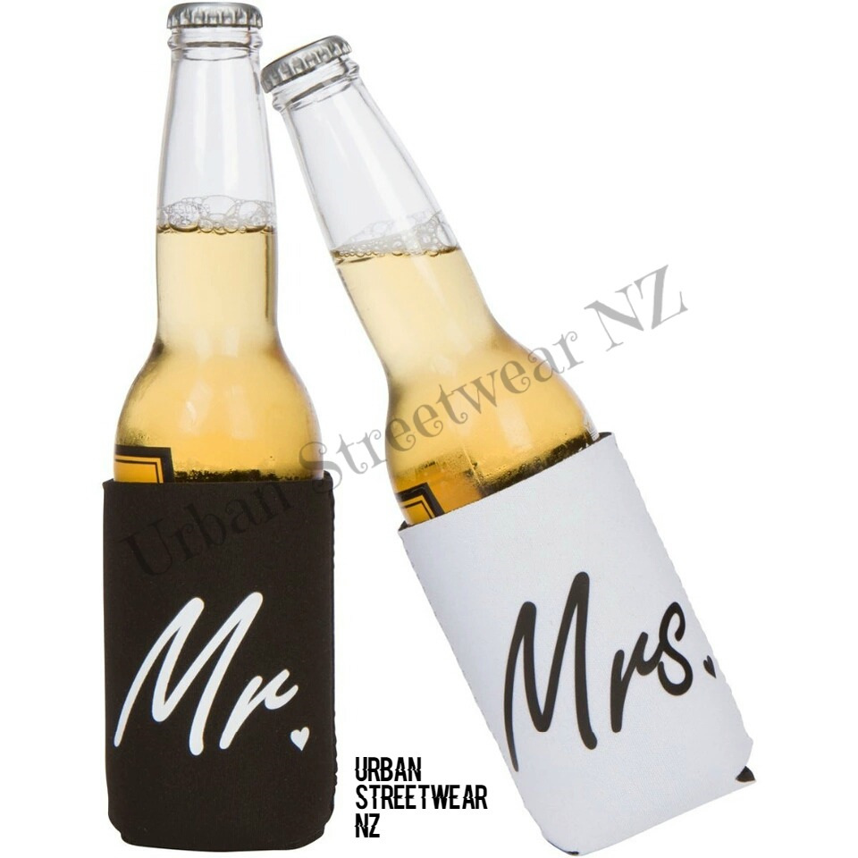 Mr & Mrs Can Koozies - Urban Streetwear