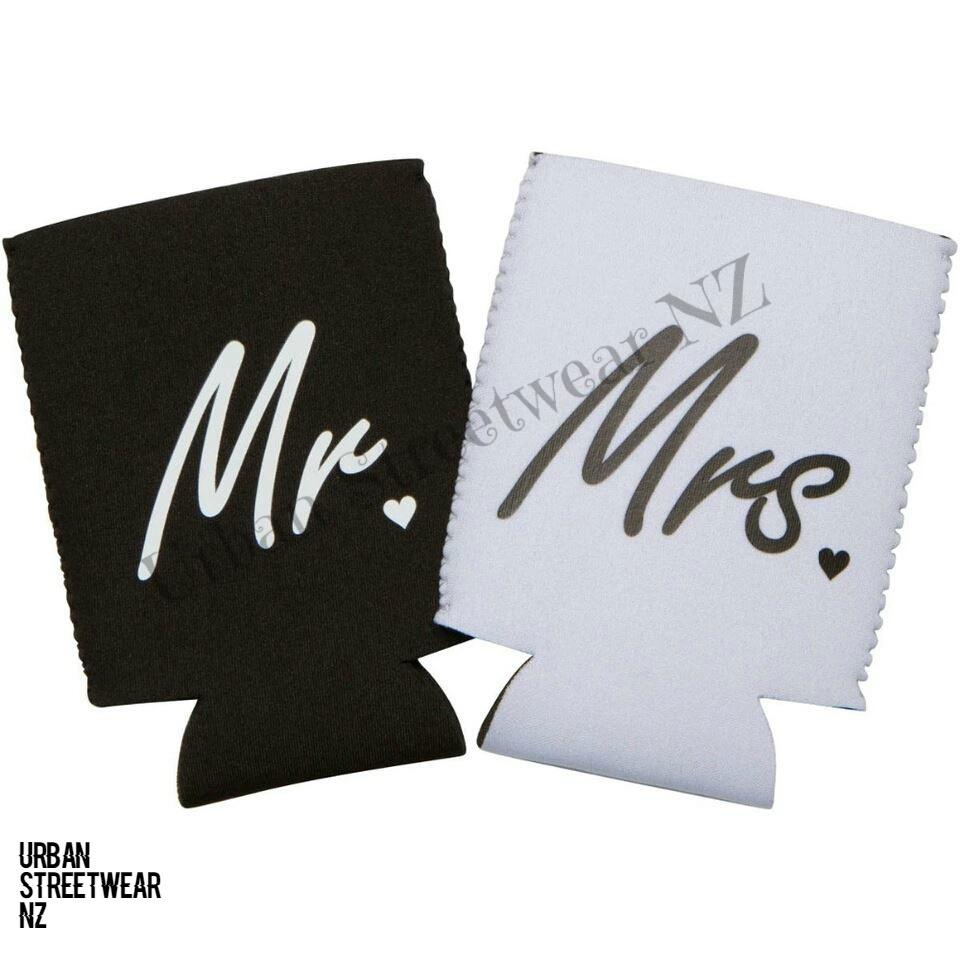Mr & Mrs Can Koozies - Urban Streetwear