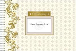 Wedding keepsake book