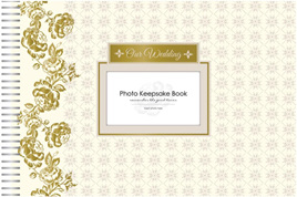 Wedding keepsake photo book