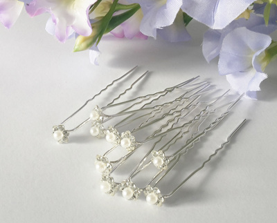 Wedding pearl pins