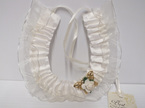 wedding#accessories#bridal#horseshoe#cream