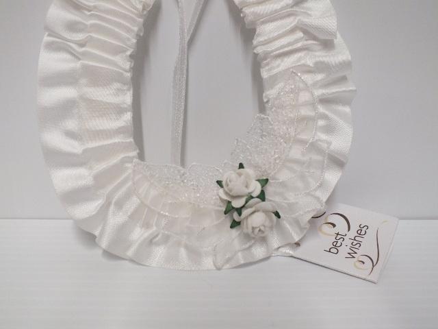 wedding#accessories#bridal#horseshoe#white