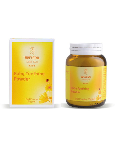WELEDA BABY TEETHING POWDER 60G
