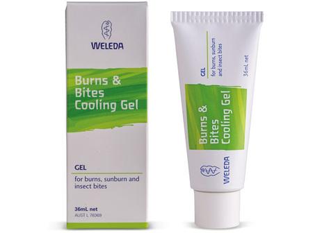 WELEDA BURNS & BITES COOLING GEL 36ML