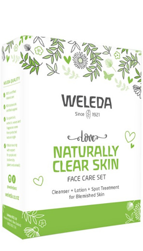 WELEDA Love Naturally Clear Skin Face Care Set