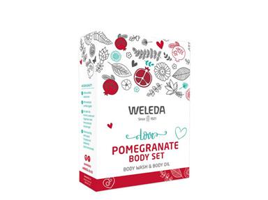 WELEDA Love Pomegranate Body Set
