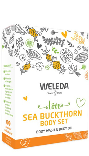 WELEDA Love Sea Buckthorn Body Set