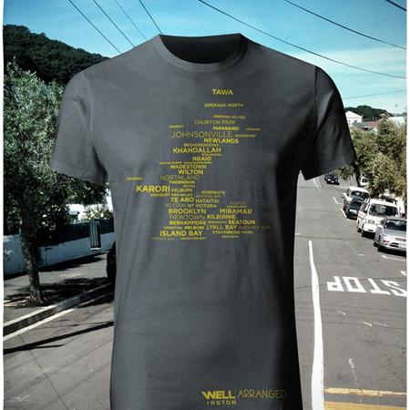 Well Arranged T-Shirt - Charcoal