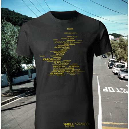 Well Arranged T-Shirt - Navy