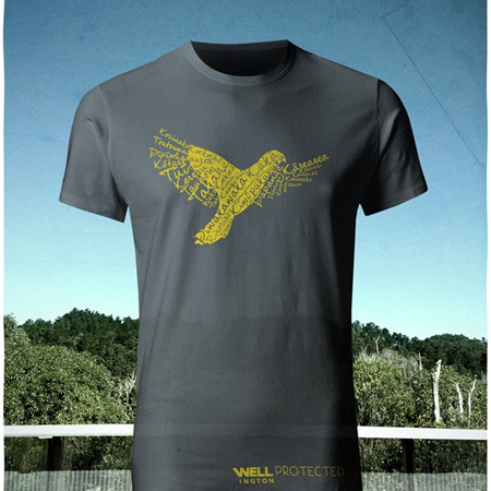 Well Protected T-Shirt - Charcoal