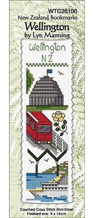 Wellington Bookmark Stitching Kit