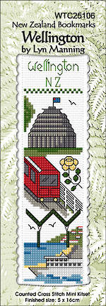 Wellington Bookmark Stitching Kit