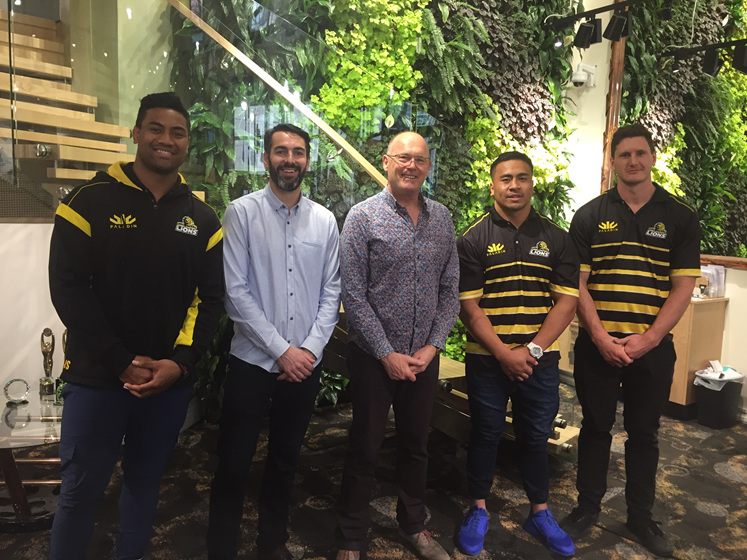 Wellington Lions, The Village Goldsmith, Hospi, Wellington Childrens Hospital