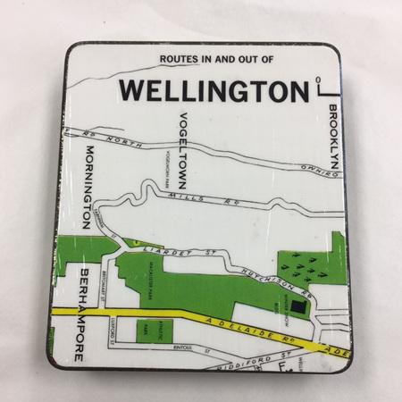 Wellington Map Tin (square)
