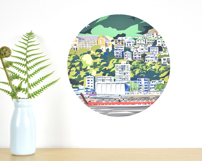 Wellington wall decal