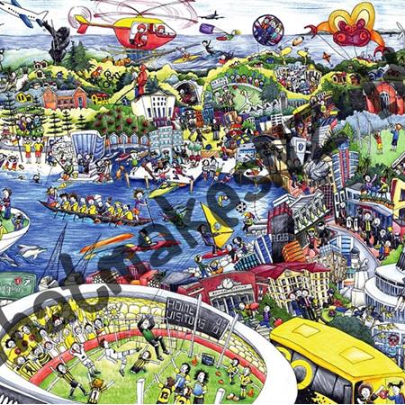 Wellington Wonderful Jigsaw 1000 pieces