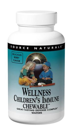 Wellness Children's Immune Chewable - 60 chewable tablets
