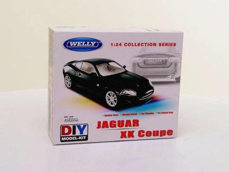 Welly 1/24 Jaguar XK Coupe Diecast DIY Model kit