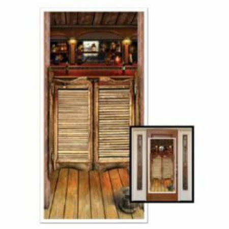 Western Saloon door cover - plastic