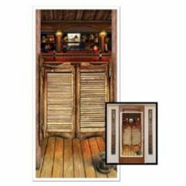 Western Saloon door cover - plastic