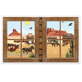 Western Window cutout props
