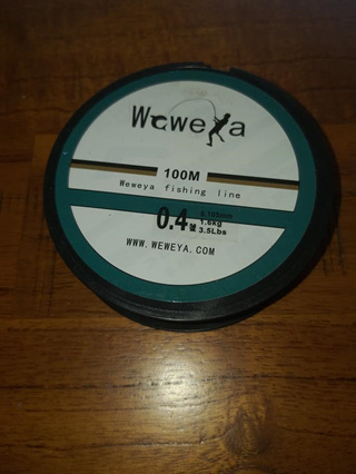 Weweya Fishing Nylon - 1.6kg (3.5lb) CLEAR