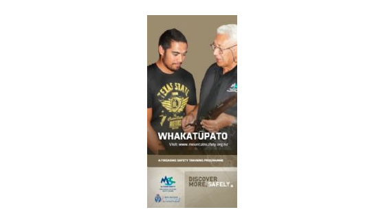 WFSP - Whakatupato Firearms Safety Pamphlet
