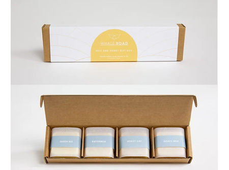Whale Road Milk and Honey Gift Box
