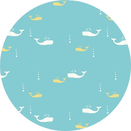 """Whale Watch"" certified organic cotton"