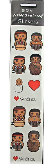 Whanau Stickers