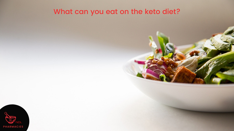 What can you eat on the keto diet?