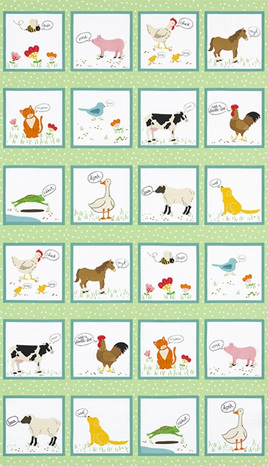 What do the Animals Say? By Katherine Lenius