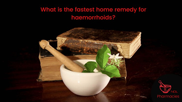 What is the fastest home remedy for haemorrhoids?