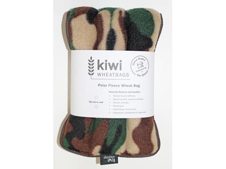 Wheat Bag Camo Polar Fleece