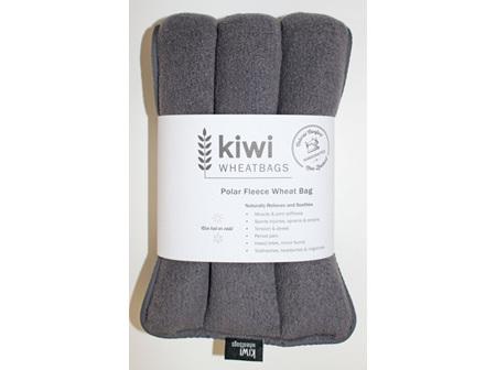 Wheat Bag Charcoal Polar Fleece