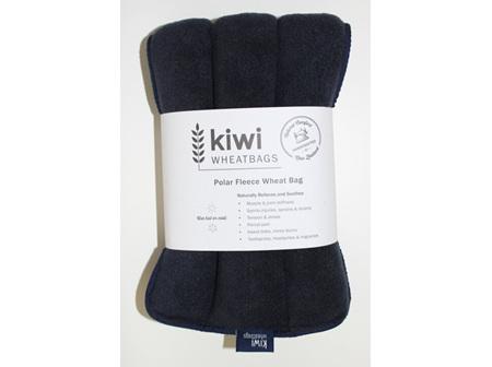 Wheat Bag Navy Polar Fleece
