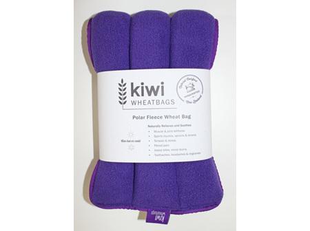 Wheat Bag Purple Polar Fleece