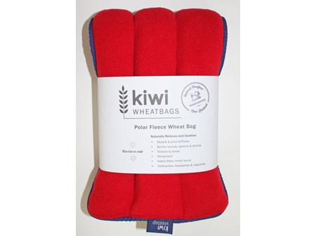 Wheat Bag Red Polar Fleece